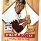 2001 Post 500 Club Baseball Card #4 Willie McCovey NM