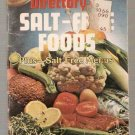 Official Directory of Salt-Free Foods Globe Mini Mag