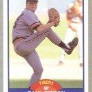 1989 Score Baseball Card #595 Paul Gibson with Hand