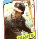 1980 Topps Baseball Card Star Lot of 14 Cards Mid-Grade