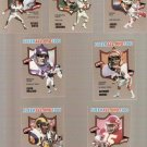 1990 Fleer All-Pros Football Cards Lot of 7