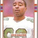 1989 Topps Football Card #121 Cris Carter Rookie
