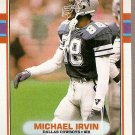 1989 Topps Football Card #383 Michael Irvin Rookie