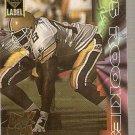 1995 Collector's Edge Rookies Black Label 22K Gold Football Card #15 Reuben Brown
