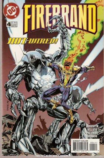 Firebrand #4 DC Comics 1996 Very Fine