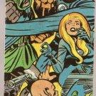 1975 Comic Book Heroes Checklist Card Bottom Center