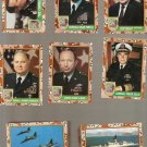 1991 Topps Desert Storm Series I Cards Partial Set