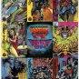 1994 Fleer Marvel Universe Cards 9 Card Panel Promo