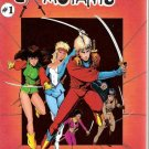 Ex-Mutants (1986 series) #1 Eternity Comics Fine
