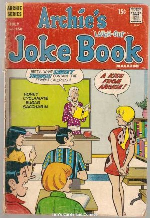 Archie's Joke Book #150 Archie Comics 1970 Fair