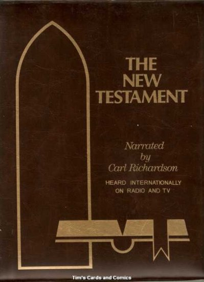 New Testament Bible Cassette Tapes by Carl Richardson