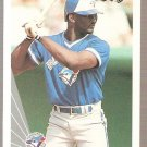 1990 Leaf Baseball Card #396 Mark Whiten RC