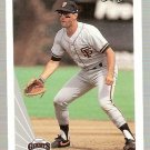 1990 Leaf Baseball Card #172 Will Clark