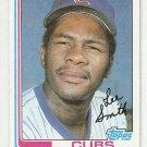 1982 Topps Baseball Card #452 Lee Smith RC NM