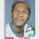 1982 Topps Baseball Card #452 Lee Smith RC EX