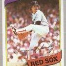 1980 Topps Baseball Card #320 Dennis Eckersley