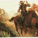 Wild West The Art of Mort Künstler Promo Card #P2 Keepsake Collection 1996