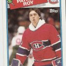 1988-89 Topps Hockey Card #116 Patrick Roy EX