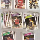 Lot of over 100 1988-89 Topps Hockey Cards