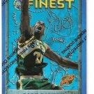 1995-96 Finest Basketball Refractors #40 Gary Payton