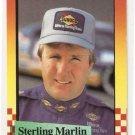 1989 Maxx Previews Racing Card #4 Sterling Marlin