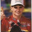 1995 Press Pass Checkered Flags Racing Card #CF3 Jeff Gordon