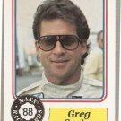 1988 Maxx Racing Card #65 Greg Sacks RC