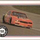 1988 Maxx Racing Card #75 Darrell Waltrip's Car