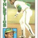1984 Topps Baseball Card #230 Rickey Henderson NM-MT
