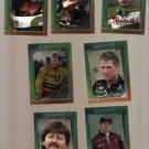 1995 Maxx Premier Plus Racing Lot of 7 Cards