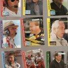1995 Traks Behind The Scenes Racing Lot of 43 Cards
