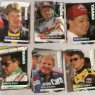 Lot of 200 1994 and 1995 Traks Racing Cards