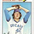 1977 Topps Baseball Card #144 Bruce Sutter RC EX-MT