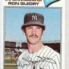 1977 Topps Baseball Card #656 Ron Guidry EX-MT
