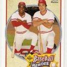 1992 Upper Deck Bench/Morgan Heroes #43 Johnny Bench Joe Morgan NM-MT