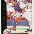 1992 Pinnacle Team 2000 #8 Ivan Rodriguez Texas Rangers