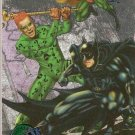 1995 Batman Forever Metal Silver Flasher Card #82 Riddler