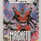 Magneto #0 Checklist Promo Card Marvel 1993 VG