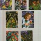 1995 Batman Forever Metal Lot of 7 Cards