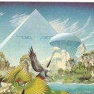 Roger Dean Pyramid with Eyes Promo Card