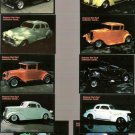 Lot of 10 Famous Hot Rod Collector Cards