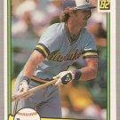 1982 Donruss Baseball Card #510 Robin Yount NM