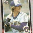 1985 Donruss Baseball Card #48 Robin Yount NM
