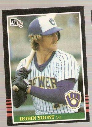 1985 Donruss Baseball Card 48 Robin Yount Nm