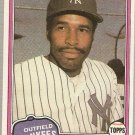 1981 Topps Traded Baseball Card #855 Dave Winfield NM A