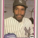 1981 Topps Traded Baseball Card #855 Dave Winfield NM B