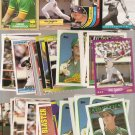 Lot of 30 Jose Canseco Baseball Cards Oakland A's Texas Rangers