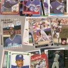 Lot of 50 Fred McGriff Baseball Cards Blue Jays Braves