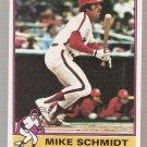 1976 Topps Baseball Card #480 Mike Schmidt Phillies EX-MT