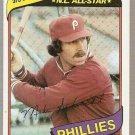 1980 Topps Baseball Card #270 Mike Schmidt Phillies EX B